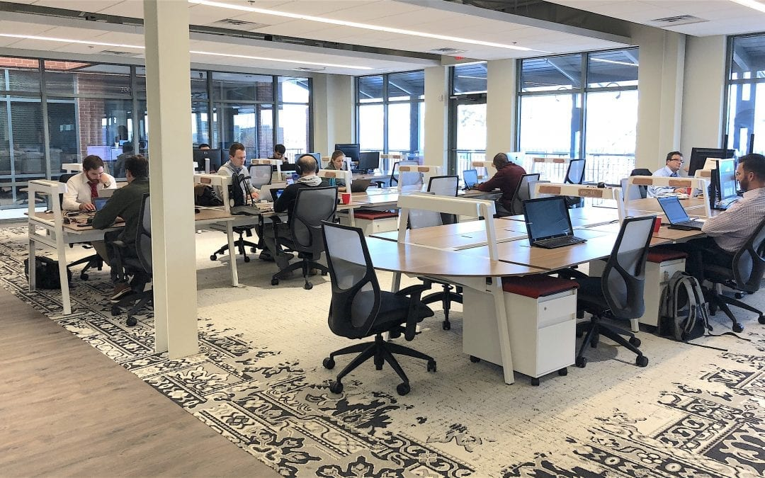 Brickyard, a coworking space in Ashburn, brings entrepreneurs together